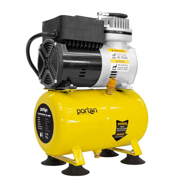 compresor de aire casero. mini compresor de aire 0.4hp, 3 litros casero